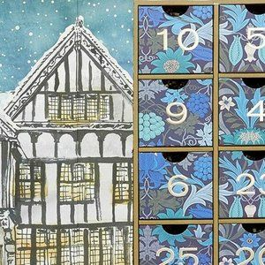 Liberty of London Advent Calendar Brand New EMPTY